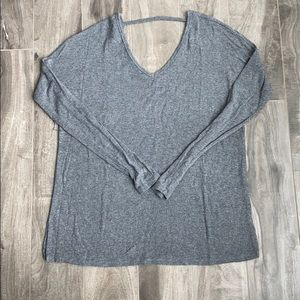 Women's Garage v-neck loose fit sweater